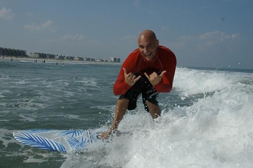 Rick Civelli; WB Surf Camp; Wrightsville Beach, NC; ncPressRelease.com; Robert Butler