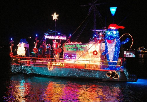 2012 NC Holiday Flotilla, photo by Beth Watson Hedgepeth