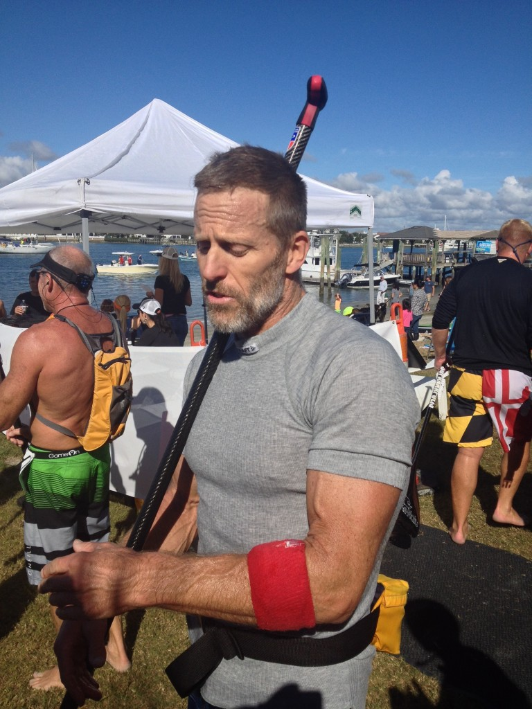 Larry Cain, Olympic gold medalist, three-time, elite Surf to Sound Champion