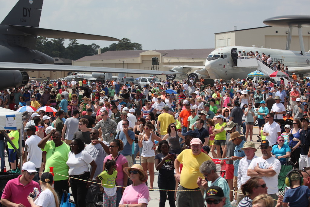 205,000 attend Seymour Johnson AFB Air Show – Click above for Photo Gallery
