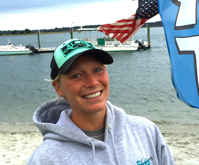 April Zilg, North Carolina Surf to Sound Women's Champ, Courtesy NC Press Release