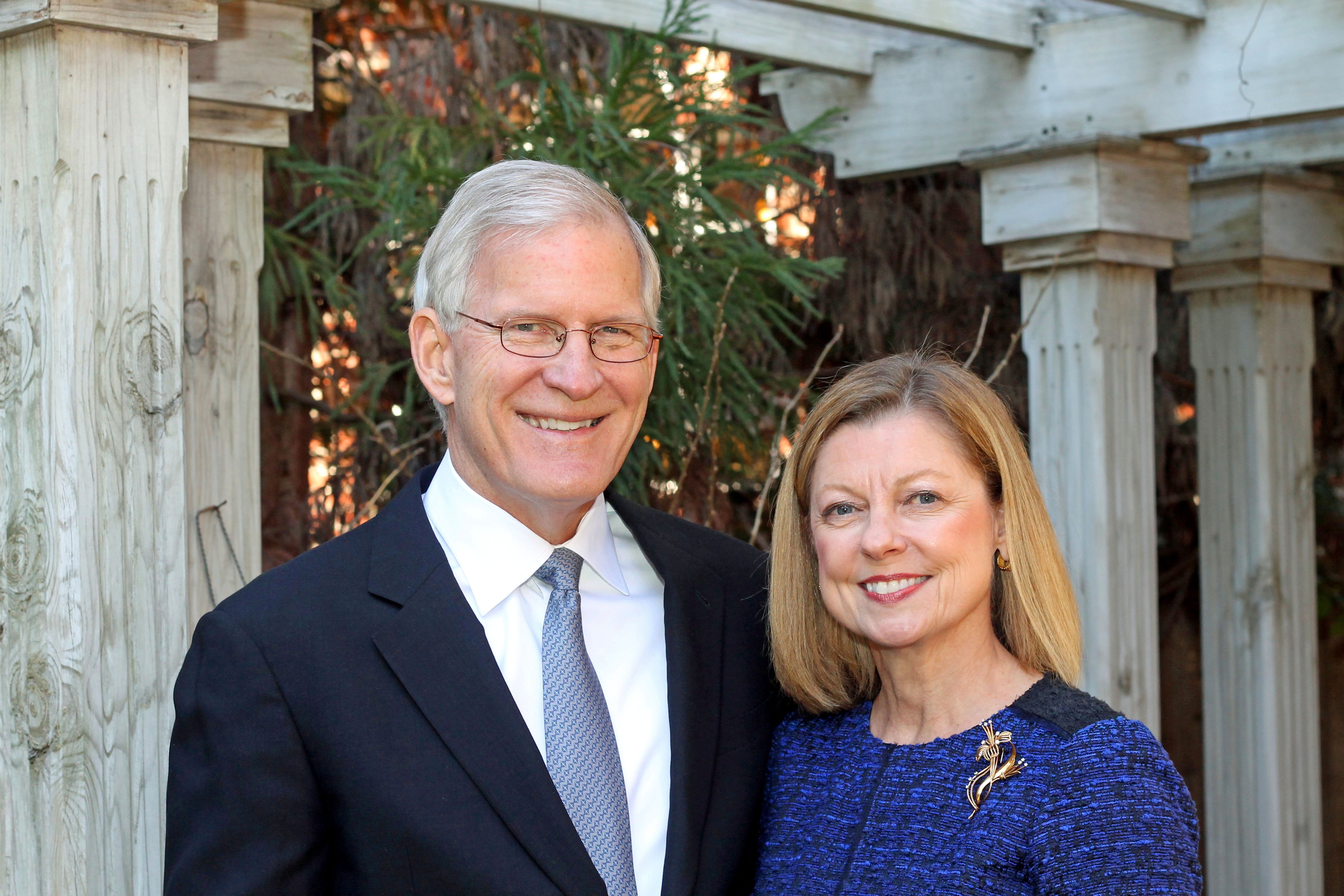 Mackey and Susan McDonald (Board Chair) Children's Home Society of NC