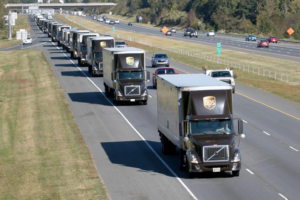 The World's Largest Truck Convoy returns to Charlotte, NC, in October 2017, courtesy SONC