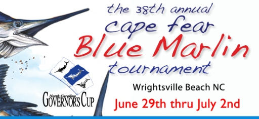 Cape Fear Blue Marlin Tournament; Wrightsville Beach, NC; ncPressRelease.com