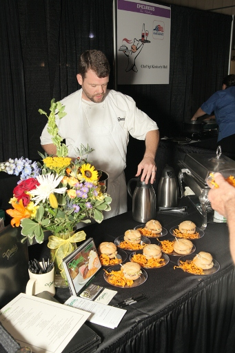 Chef Tom Armstrong; Vinnie's; Raleigh, NC; Epicurious Vino Challenge; RHA Howell; ncPressRelease.com; Robert Butler