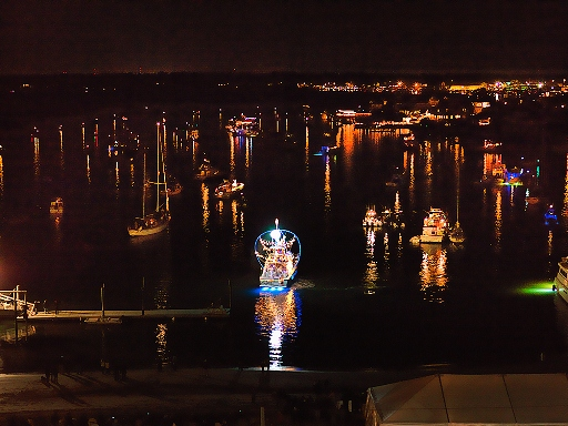North Carolina Holiday Flotilla and Fireworks Winners, Wrightsville Beach, ncPressRelease.com