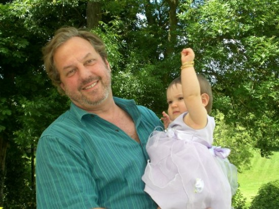 Charles Sabine with daughter Breezy