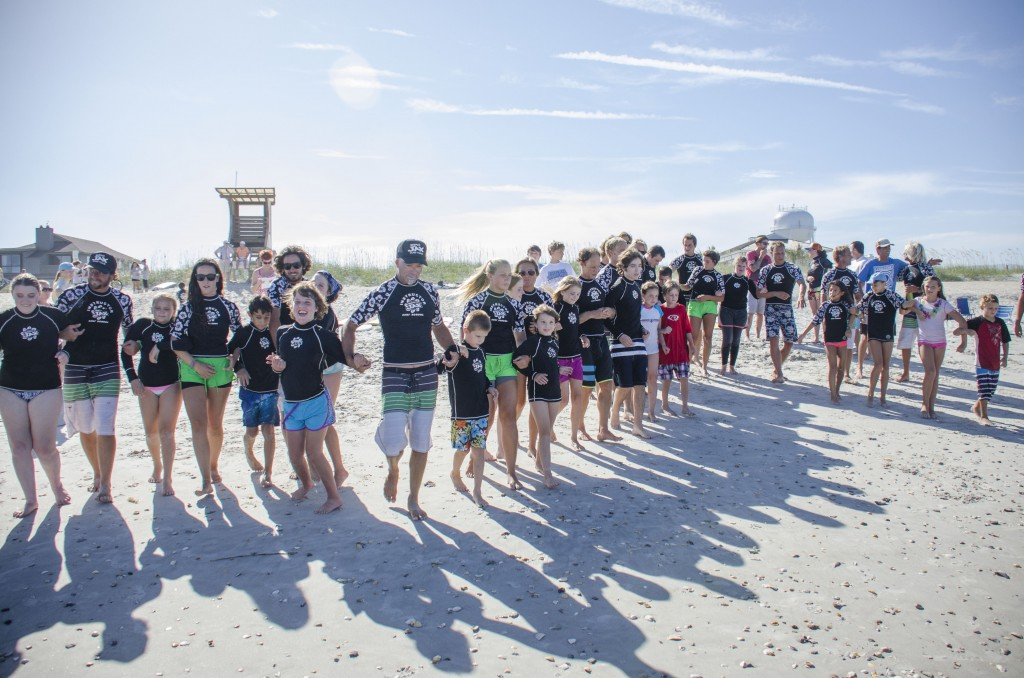 Indo Jax Surf Camp for Visually Impaired