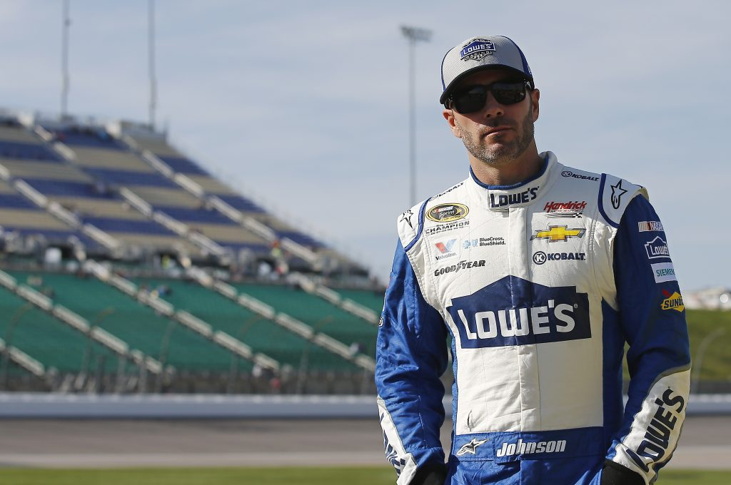 Jimmie Johnson, six-time NASCAR Sprint Cup Series Champion, courtesy of Brett Moist